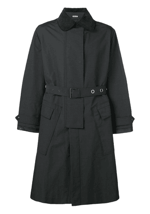 Lanvin boxy fit trench coat - Blue