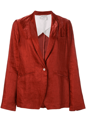 Forte Forte single-breasted blazer - Red