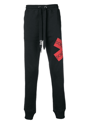Dolce & Gabbana logo tape jogging trousers - Blue