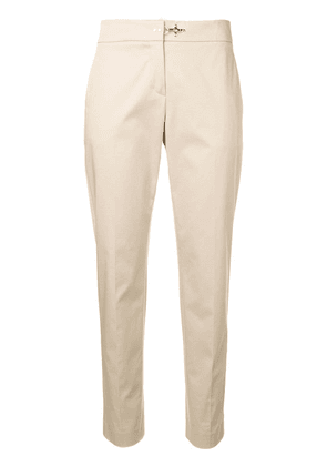 Fay tapered chinos - Brown