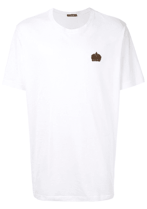 Dolce & Gabbana crown patch T-shirt - White