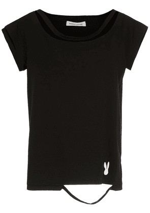 Gloria Coelho distressed t-shirt - Black