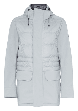 Canada Goose Breton hooded feather down jacket - Grey