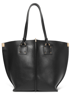 Chloé - Vick Textured-leather Tote - Black