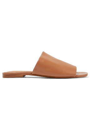 Clergerie - Itou Leather Slides - Tan