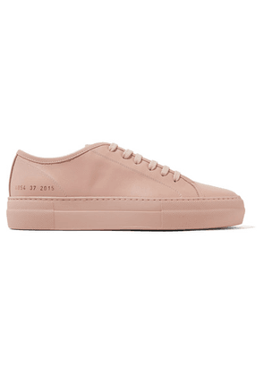 Common Projects - Tournament Leather Sneakers - Blush
