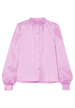 Co - Satin-twill Blouse - Pink
