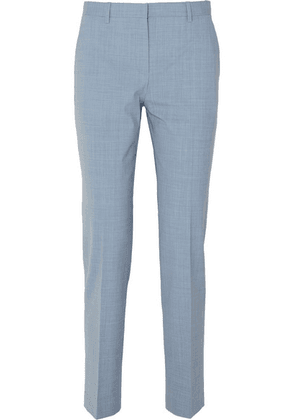 Theory - Stretch-wool Pants - Light blue