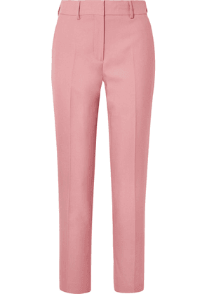 Burberry - Twill Straight-leg Pants - Antique rose