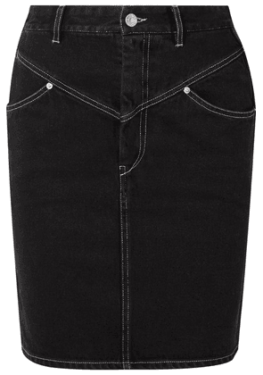 Isabel Marant - Lorine Denim Skirt - Black