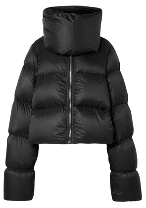 Rick Owens - Quilted Shell Down Jacket - Black
