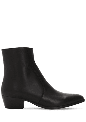 45mm Zimmerman Zip-up Leather Boots
