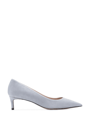 Stuart Weitzman - The Leigh 45 Pump In Dovetail Blue Grey - Size 41.5