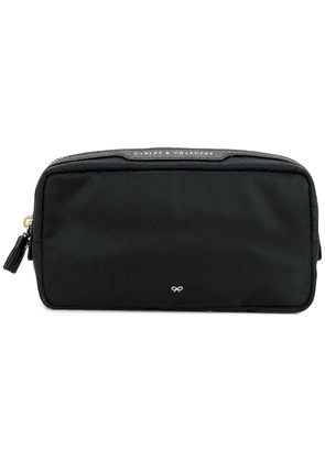 Anya Hindmarch cables and chargers bag - Black