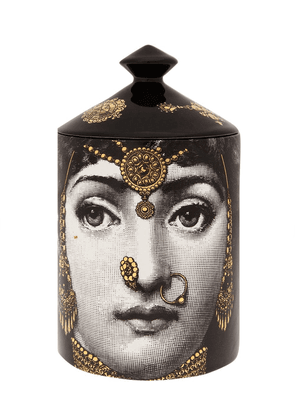 Fornasetti 'L'Eclaireuse' scented wax candle - Black