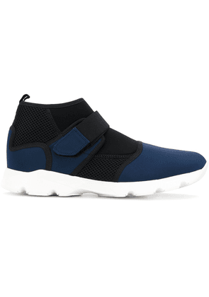 Marni technical fabric sneakers - Blue