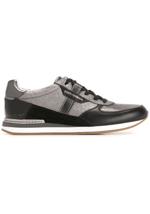 Dolce & Gabbana panelled sneakers - Black