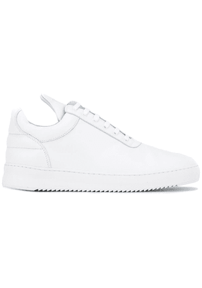 Filling Pieces elongated tongue sneakers - White