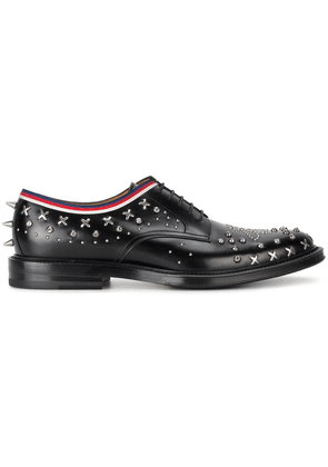 Gucci studded Derby shoes - Black