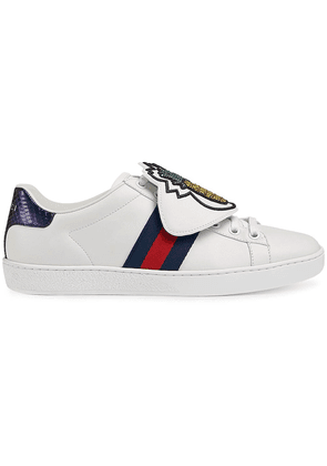 Gucci White Pineapple Patch Ace sneakers
