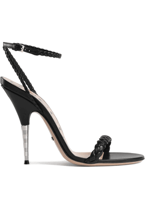 Gucci Braided leather sandals - Black