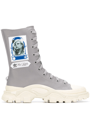 Adidas By Raf Simons Detroit sneaker boots - Grey