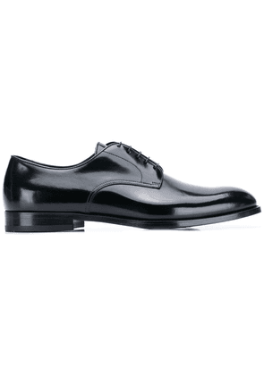 Doucal's classic derby shoes - Black