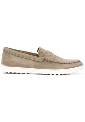 Tod's thick sole loafers - Neutrals