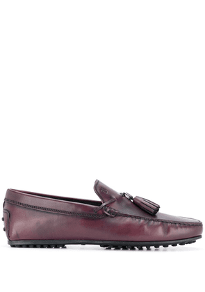 Tod's tassel loafers - Red