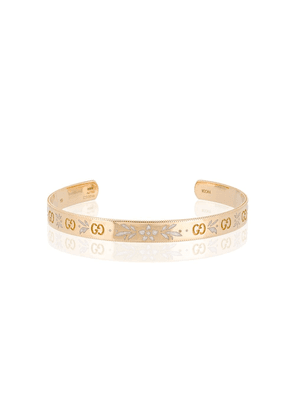 Gucci Icon bracelet in yellow gold - Metallic