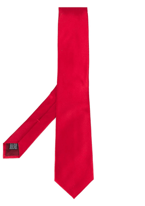 Fashion Clinic Timeless woven silk tie - Red