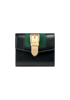 Gucci Sylvie leather wallet - Black