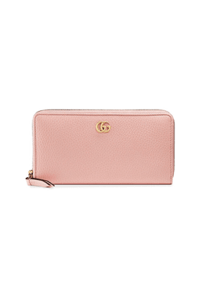Gucci Leather zip around wallet - Pink