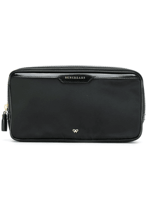 Anya Hindmarch suncreams travel pouch - Black