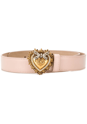 Dolce & Gabbana Devotion belt - Pink