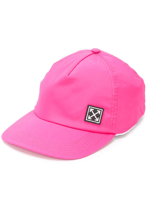 Off-White logo patch cap - Pink