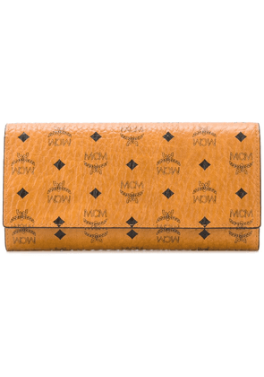 MCM Visetos Three Fold wallet - Brown