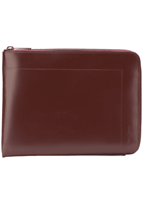 Maison Margiela classic side-zipped pouch - Brown