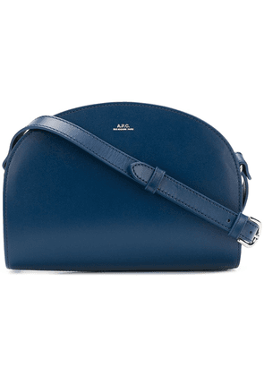 A.P.C. Demi Lune crossbody bag - Blue