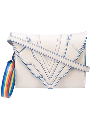 Elena Ghisellini Rainbow shoulder bag - Grey