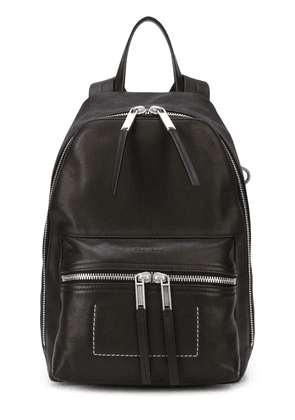 Rick Owens stitch detail backpack - Black