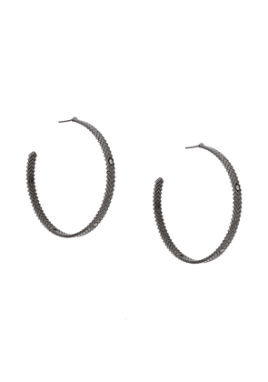 Charlotte Valkeniers solar hoop earrings - Metallic