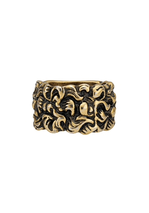 Gucci Lion mane ring - Gold