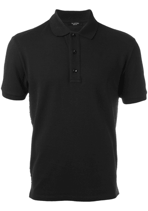 Valentino Rockstud polo shirt - Black
