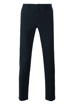 Moncler classic chinos - Blue