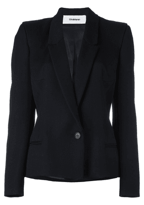 Chalayan signature fitted jacket - Black