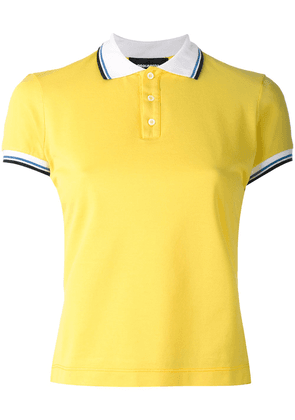 Dsquared2 contrast stripe polo shirt - Yellow