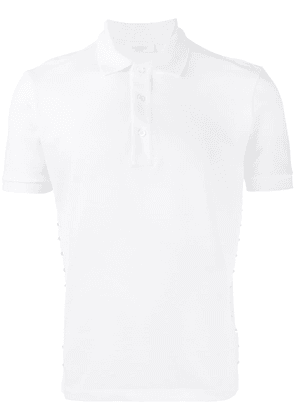 Valentino studded polo shirt - White