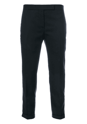 Thom Browne cropped trousers - Blue