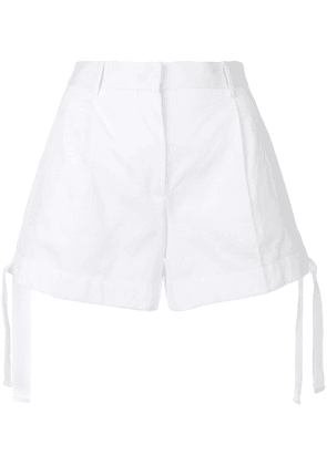 Moncler drawstring fitted shorts - White